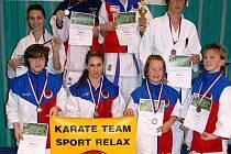 Karatisté z klubu Sport Relax se zúčastnili dalšího ročníku Velké ceny Nymburka.