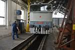 Nadšenci v Lípě zachraňují unikátní lokomotivu. Strojvůdce Zbyněk Beneš.