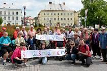 Uživatelé Sociálních služeb města Nový Bor.