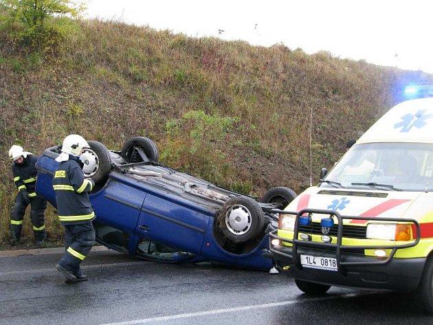 Dopravní nehoda u Sosnové