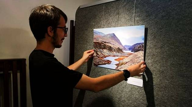 Výstava ukazuje krásy Norska.