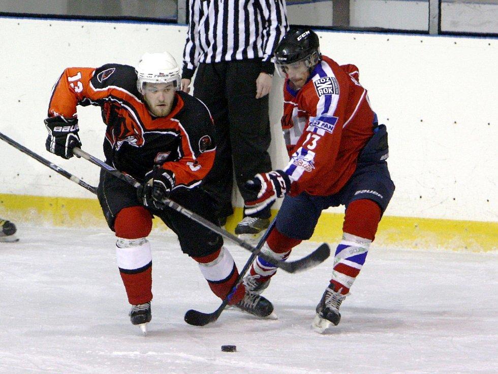 HC Česká Lípa - Varnsdorf 7:4 (5:0, 0:2, 2:2).