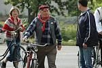 Fandové bicyklů vzdali v Horní Polici hold slavné značce Achilles.