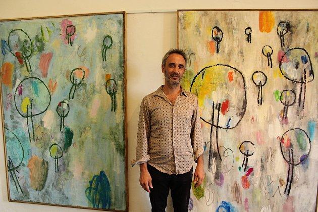 Obrazy španělského malíře Manuela Rodrigueze Mendeze bude možné dva měsíce obdivovat v Galerii Jídelna českolipského muzea.