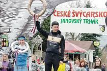 První místo v časovce Janovský trhák pro Jana Matouška.