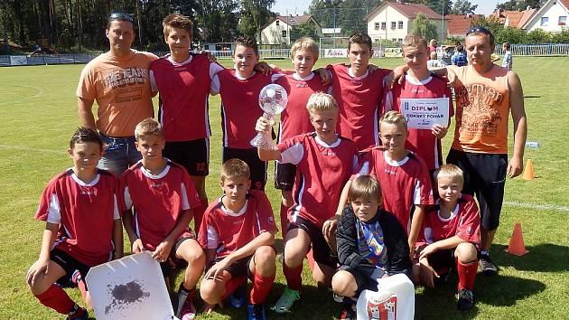 Vítězný tým turnaje ze Zákup.