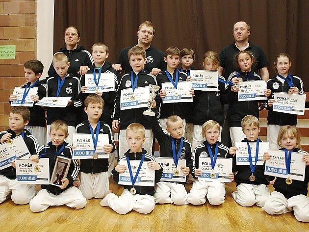 Novoborští judisté opanovali turnaj v České Lípě s názvem O pohár starostky města.
