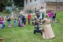 Městský park v Novém Boru ožil o uplynulém víkendu Mariánskou poutí.