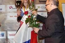 PETRA VOJÍŘOVÁ uspěla na Evropském poháru v lezeckém sprintu, který se konal v Polsku. Vojířová tuto soutěž vyhrála