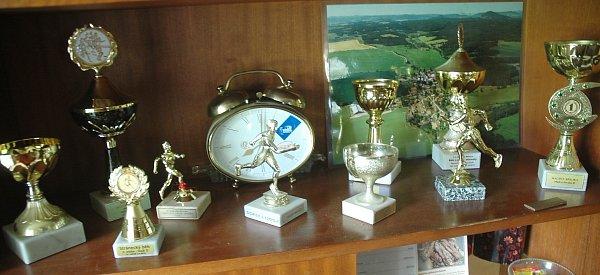 Tuhaňský mílař a kronikář se specializuje na běhy do vrchu. Doma má řadu trofejí.