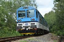 Začíná několikaměsíční výluka na trati z České Lípy do Nového Boru.