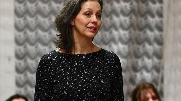 herečka Divadla F. X. Šaldy Markéta Tallerová.