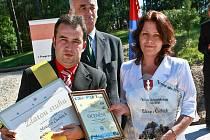 Loňským vítězem krajské Vesnice roku se stala obec Sloup v Čechách.