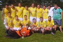 Vítěz 16. ročníku fotbalového turnaje: Slavoj Velký Valtinov.