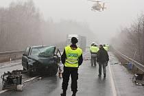 Tragická nehoda u Stružnice, při které loni v únoru zemřela osmnáctiletá řidička.