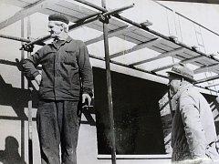 Hlavním úkolem pro rok 1971 byla výstavba prodejny potravin a v tomto roce také začaly práce. Jednota byla slavnostně otevřena až následující rok, přesně 15. července 1972.