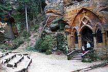 Modlivý důl u Svojkova.