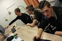Mladí adepti práce v bezpečnostních složkách byli vidět v ulicích České Lípy.