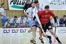 FBC PULLO TRADE Česká Lípa - FbK Svitavy 7:4 (1:3, 2:1, 4:0).