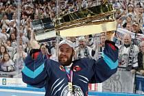 Liberečtí hokejisté letos získali mistrovský titul poprvé v historii klubu.