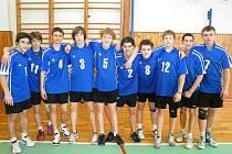 Tým starších žáků českolipské Lokomotivy.