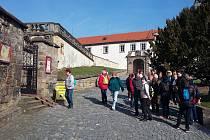 Zahájení turistické sezóny na zámku v Zákupech.