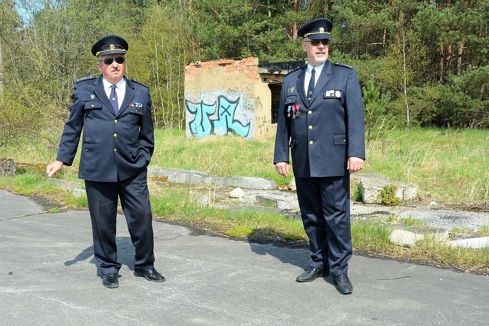 Na bývalém vojenském letišti v Hradčanech, v místech, kde se soustřeďovaly jednotky JSDH z celé země.