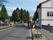 Dopravní omezení se týkají ulic Lidická, Zdislavy z Lemberka, Liberecká a náměstí Míru.