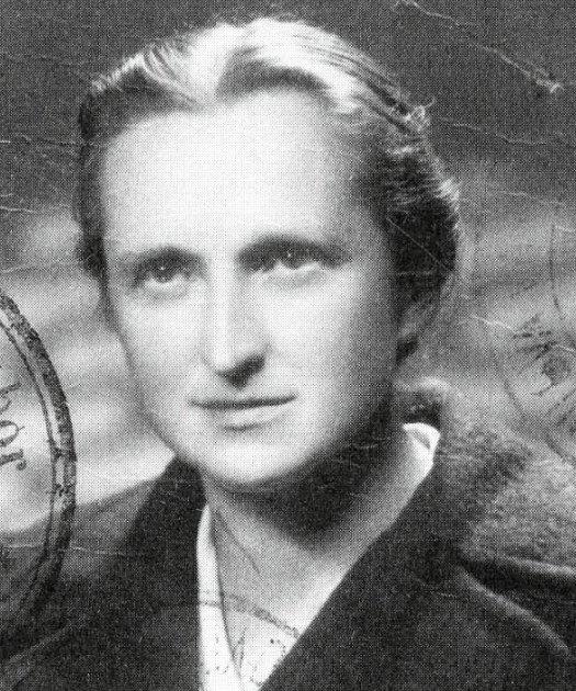 Emma Jebautzká (1906 - 1988), hrdinná rodačka zJanova.