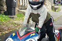 V kategorii nejmladších jezdců do osmi let dojel čtyřletý závodník z Dubnice Jakub Opolský na 14. místě.