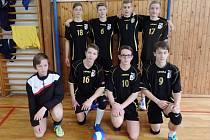 Starší žáci volejbalového klubu Loko Česká Lípa.