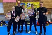 Viper Club vybojoval dvě zlaté, dvě stříbrné a dvě bronzové medaile.