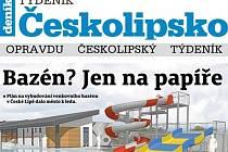 První vydání Týdeníku Českolipsko.