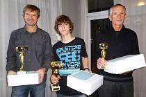 Vítězové: Petr Louda, Petr Cmunt a Zdeněk Bufka.
