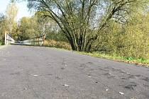 Cyklostezka Varhany se v dubnu promění. Reklamované vady tu odstraní dodavatel a zároveň začne další etapa výstavby.