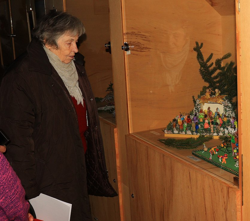 V Městském muzeu v Mimoni vystavují betlémy.