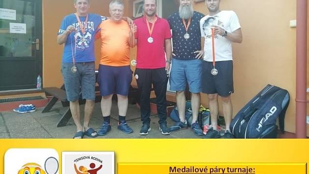 Spolek Tenisová rodina uspořádal další turnaj Staré Splavy Open.
