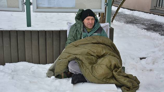 Jiří Štágl drží hladovku pátý den.