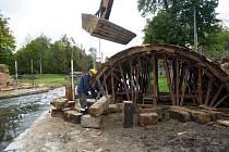 Rekonstrukce Zámeckého mostu v Mimoni, 2009.