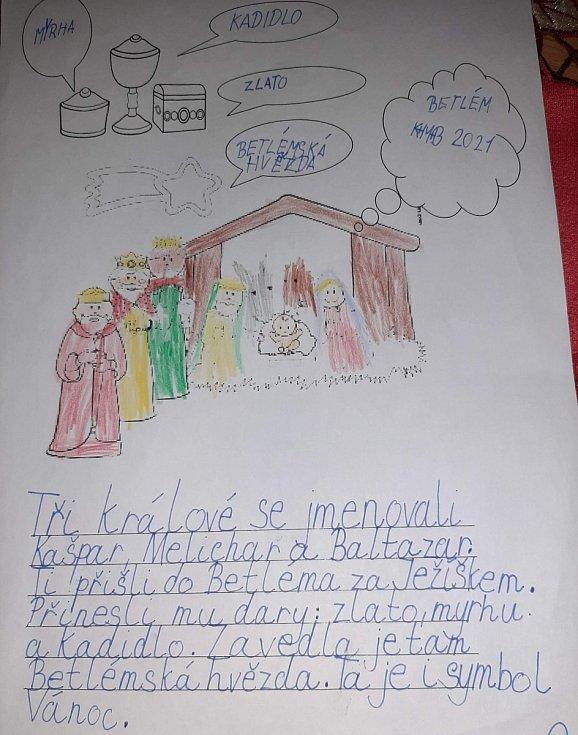 V Dubé se učili se o svátku Tří králů.