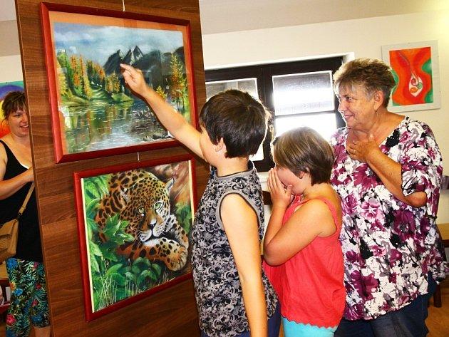 Výstava v Hamru na Jezeře bude otevřená do neděle.