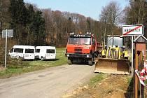 Rekonstrukce silnice začala loni, letos se pracuje na úseku dlouhém zhruba 1,8 kilometru.