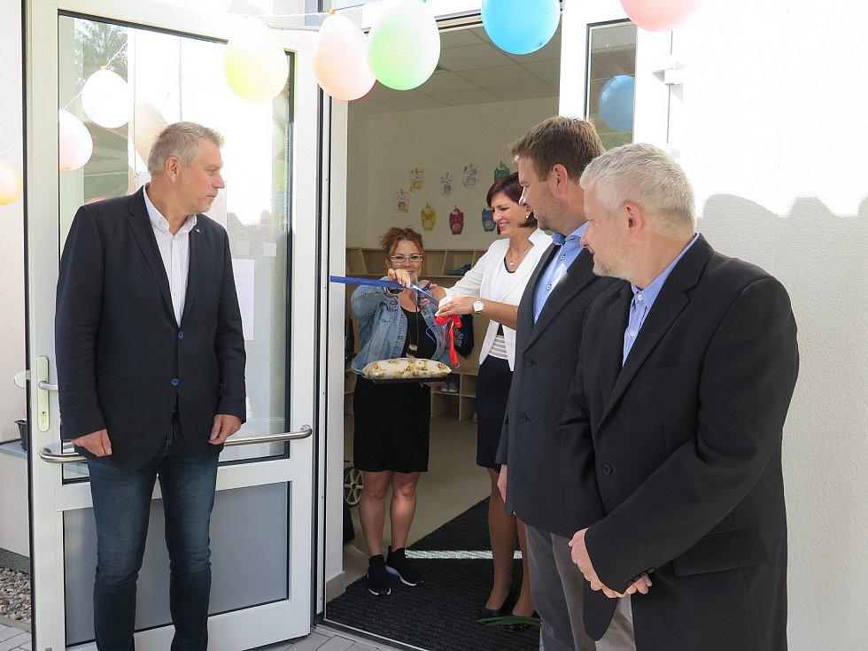Nový pavilon F na Základní škole speciální Jižní v České Lípě.