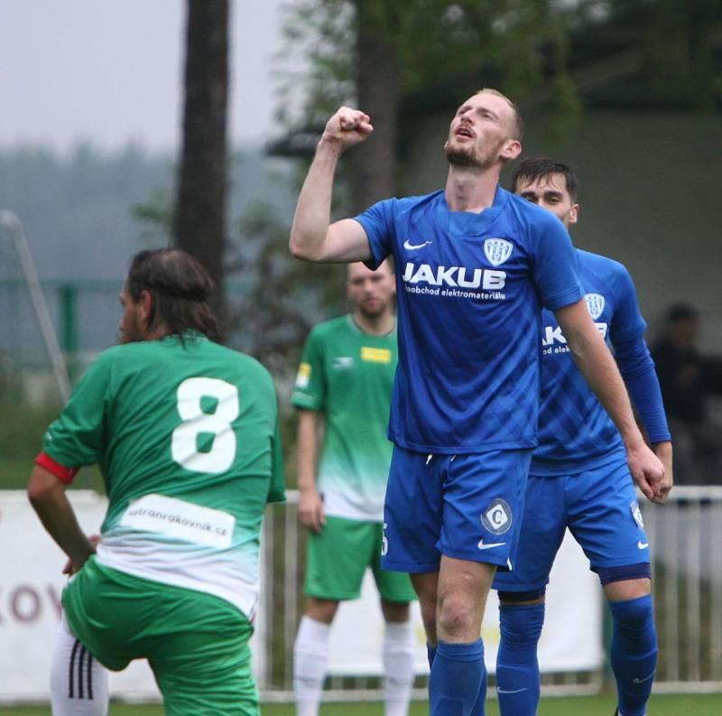 David Halbich je aktuálně nejlepším střelcem divizních fotbalistů z České Lípy.