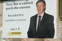 Pavel Danys na bilboardu.