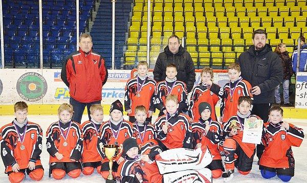 Druháci odehráli výbornou sezonu a jsou velkým příslibem českolipského hokeje.