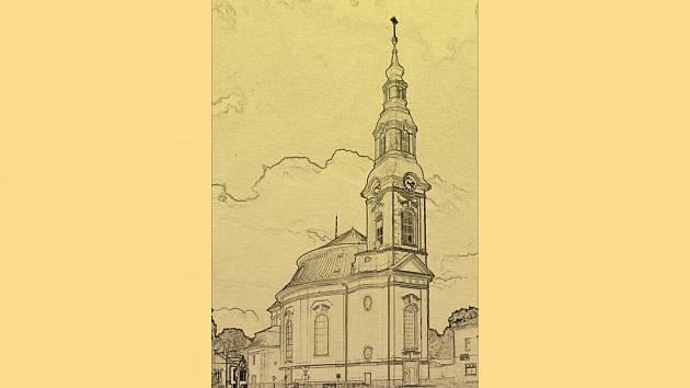 Kostel Nanebevzetí Panny Marie v Novém Boru.