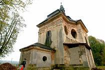 Kaple sv. Jana Nepomuckého ve Sloupu v Čechách v roce 2011.