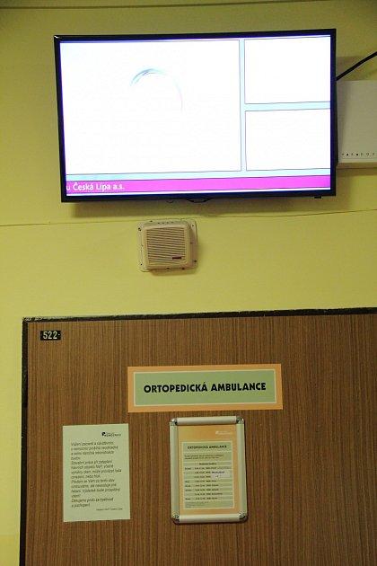 Znemocnice zmizely minulý týden dvě obrazovky.