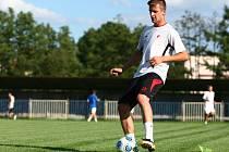 K úvodnímu výběhu před novou sezonou vedl tým kapitán Jan Broschinský, při nácviku hráče dirigoval nový trenér Libor Macháček a v kádru pro novu sezonu se objevil i navrátilec Martin Finklár.
